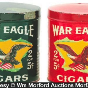 War Eagle Cigar Tins