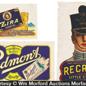 Vintage Tobacco Decals