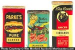 Spice Advertising Tins