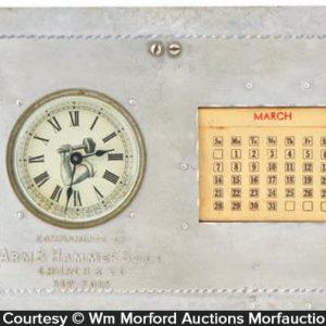 Arm & Hammer Clock