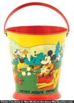 Antique Disney Sand Pail
