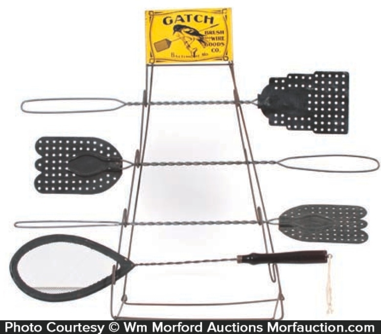 Gatch Fly Swatters Display