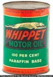 Whippet Motor Oil Can