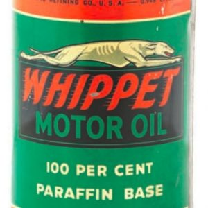Whippet Motor Oil Can