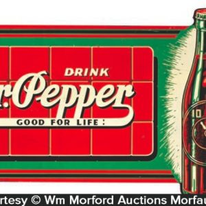 Dr. Pepper Flange Sign
