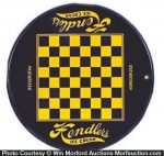 Hendler's Ice Cream Chess Sign