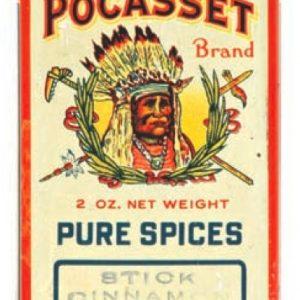 Pocasset Spice Tin