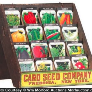 Card Seed Display