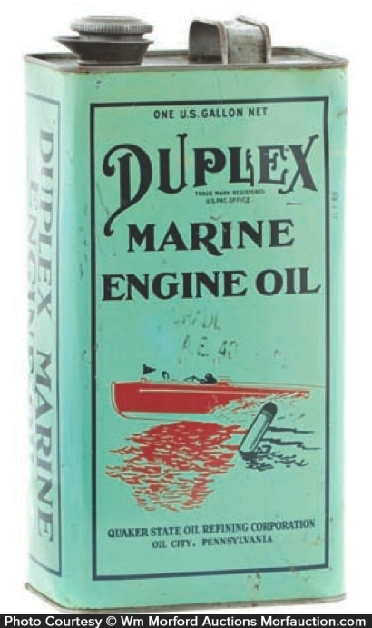 Duplex Marine Oil Can