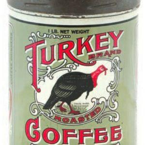 Turkey Coffee Can