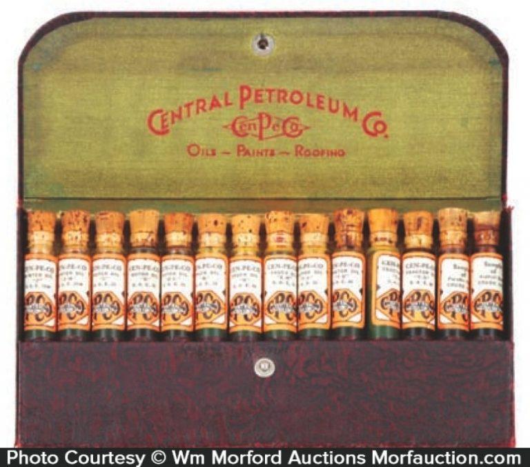 Central Petroleum Oil Samples Kit