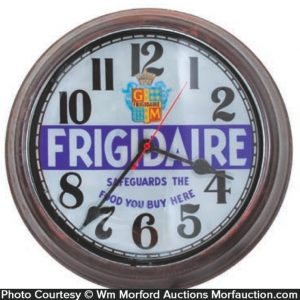 General Motors Frigidaire Clock