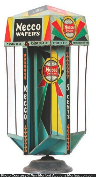 Necco Wafers Display