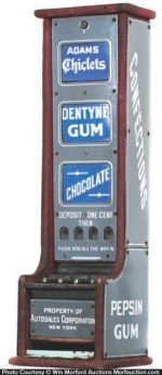 Adams Confections Vending Machine