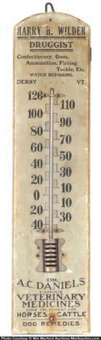 Dr. Daniels Veterinary Medicines Thermometer