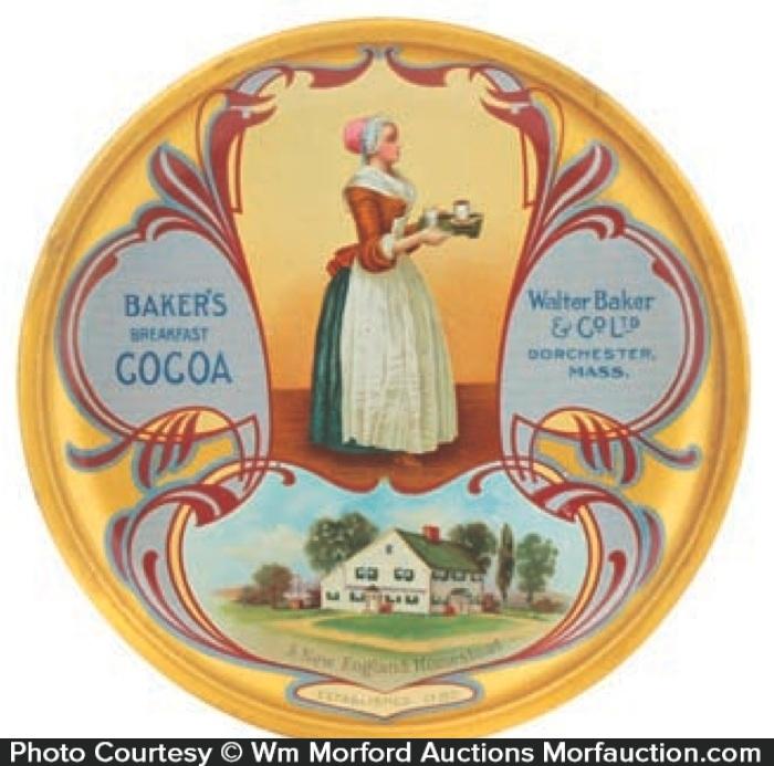 Baker's Cocoa Tip Tray