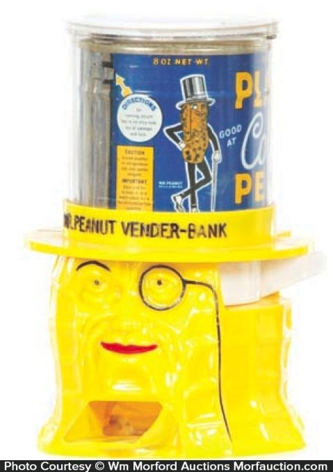 Mr. Peanut Vender Bank