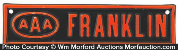 Aaa Franklin Plate Topper