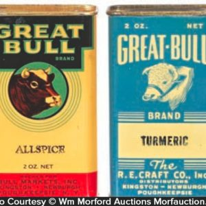 Great Bull Spice Tins