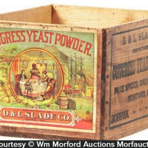 Congress Yeast Powder Box