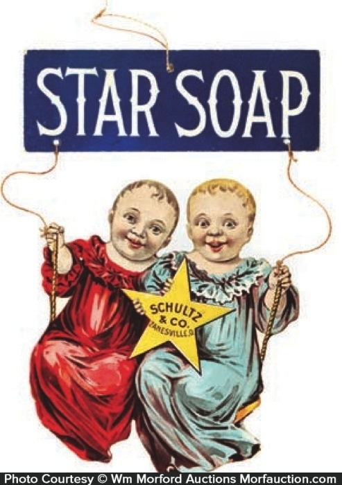 Star Soap Sign