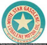 White Star Gasolene Mirror