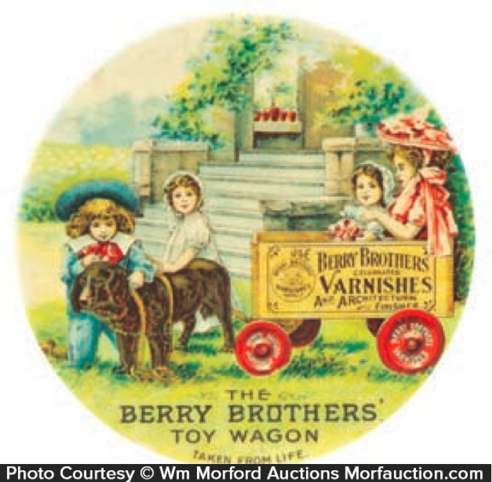 Berry Bros. Varnish Mirror
