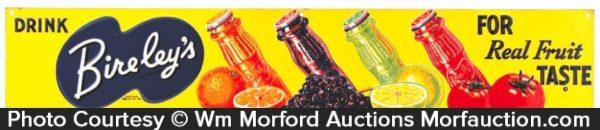 Bireley's Fruit Beverages Sign