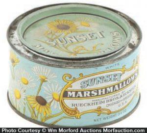 Sunset Marshmallows Tin