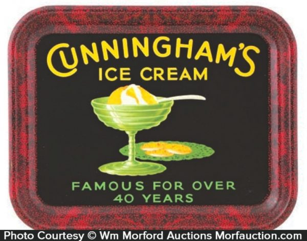 Cunningham Ice Cream Tray