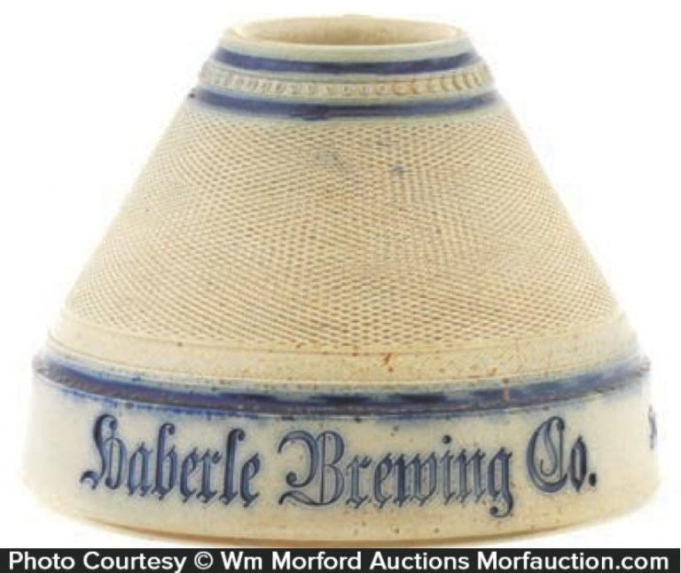 Haberle Brewing Company Match Holder