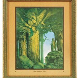 Maxfield Parrish Jason and The Talking Oak Print