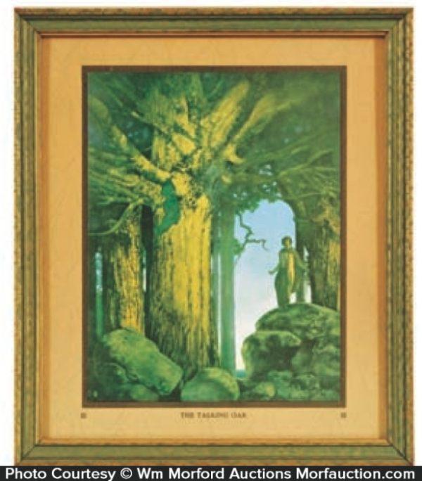 Maxfield Parrish Jason and The Talking Oak Print
