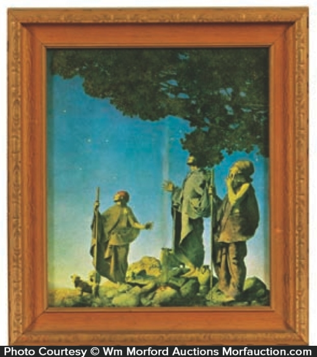 Maxfield Parrish Christmas Art Print