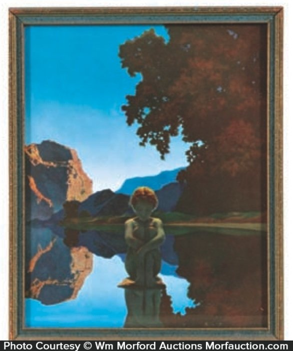 Maxfield Parrish Evening Print