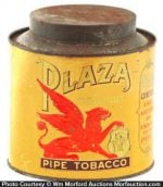 Plaza Pipe Tobacco Canister
