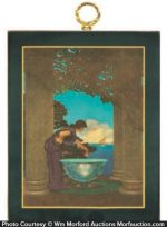 Maxfield Parrish Circe's Palace Plaque