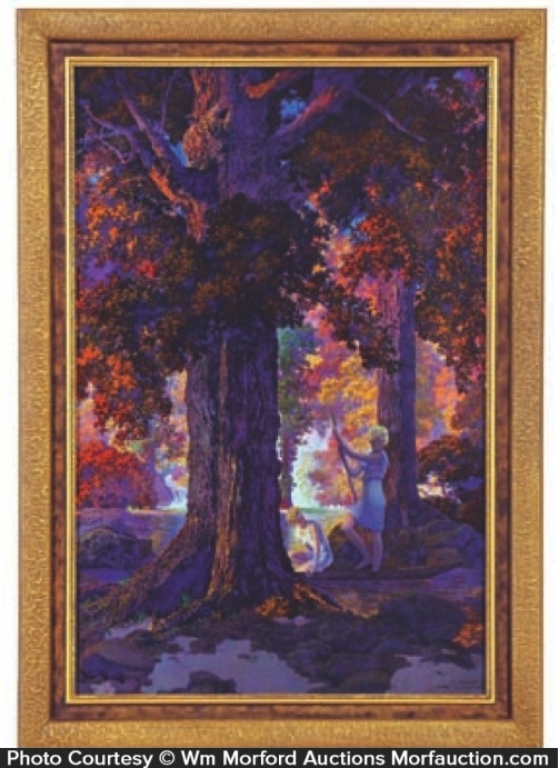 Maxfield Parrish Golden Hours Calendar