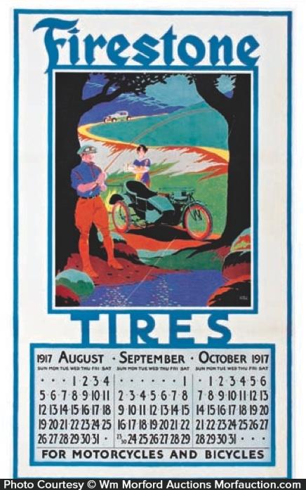 Firestone Motorcycle Tires Calendar