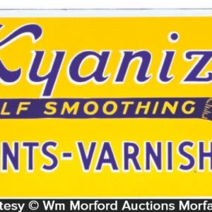 Kyanize Paint Sign