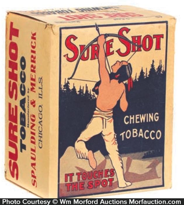Sure Shot Chewing Tobacco Display Box