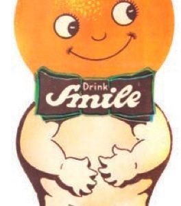 Smile Soda Hanger Sign