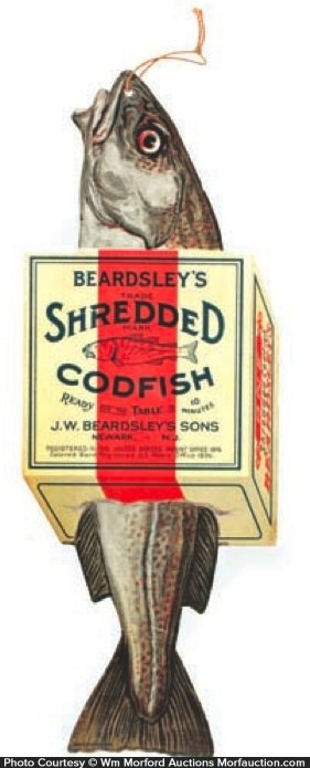 Beardsley's Codfish Sign