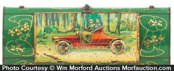 Vintage Automobile Tin