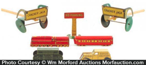 Vintage Cracker Jack Prizes