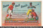 Baseball Bank Trade Card