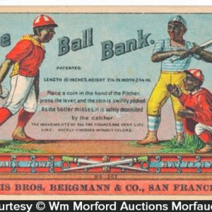 Baseball Bank Trade Card