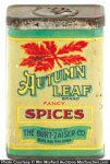 Autumn Leaf Spice Tin