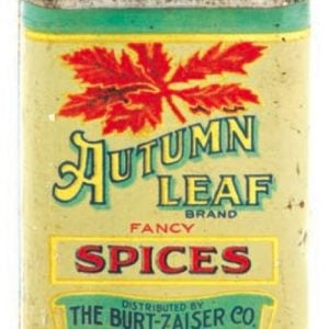 Autumn Leaf Spice Tin