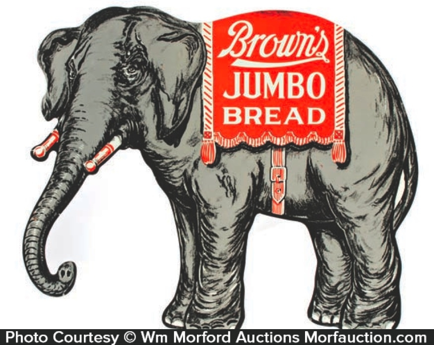 Jumbo Bread Sign